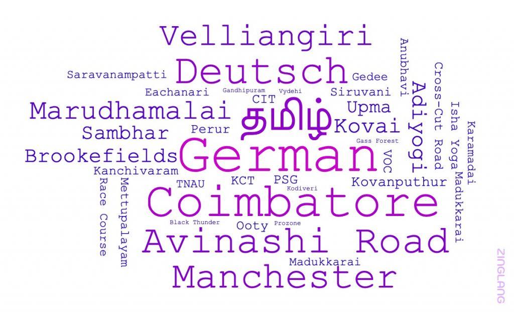 German classes in Coimbatore